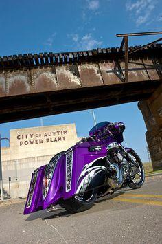 Purple Custom Bagger