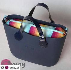 73 отметок «Нравится», 2 комментариев — #i_love_obag (@i_love_obag) в Instagram: «#Repost @omay.pl (@get_repost) ・・・ Tęczowy wzór w granacie / Rainbow print inside navyblue #obag…»