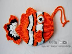 Fish Bag | Free Pattern and 10 more free sea theme crochet pattern