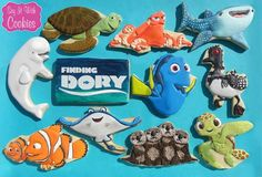 Finding Dory Cookies!   by Kim Hunter   https://www.facebook.com/SayWithCookies