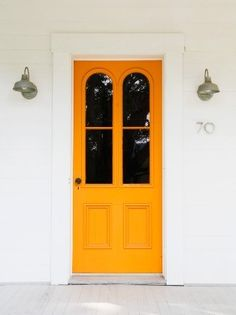 Love colorful front doors