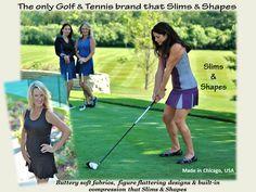 Smashing Golf & Tennis | Ladies Apparel that Shapes, Tones and Slims