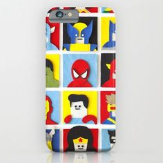 Felt Heroes- For iPhone 6 Case