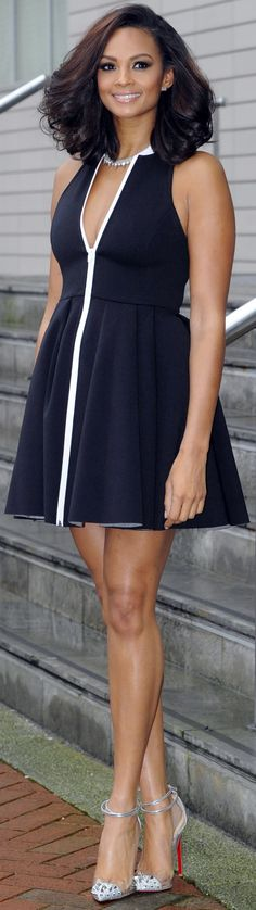 Alesha Dixon...hair!!! To learn how to grow your hair longer click here - h http://rogerburnleyvoicestudio.com/