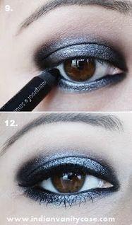 Tutorial: Smoky Grey Eyes