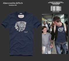 30faf494202a7 long-sleeved T-shirt 514. CamisetasHombresAbercrombie ...