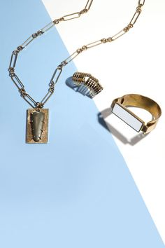 Refined and mixed metals are sure to amp up your jewelry look!