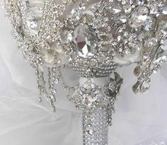 Bouquet made by Krystal Kouture Boutique Krystal, Bouquet, Brooch, Crown, Jewelry, Design, Fashion, Jewellery Making, Moda