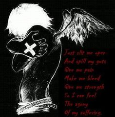 Dark emo poems white rose poem image emo pinterest - Emo rose pictures ...