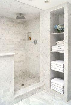 50 Exciting Tips And Tricks Bathroom Storage Shelves Organization Ideas - Page 14 of 50 Best Bathroom Tiles, Modern Bathroom, Bathroom Ideas, Bathroom Mirrors, Bathroom Cabinets, Washroom, Bathroom Renovations, Bamboo Bathroom, Bathroom Canvas