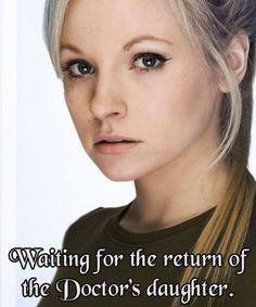 They really should bring Jenny back for an episode, imagine how the Doctor would react to that...