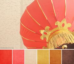 Color Palette #127 :: Chinese Lantern