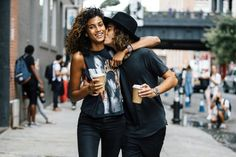 Pin for Later: 25 Reasons Imaan Hammam Should Be Your New Favorite Model Imaan's Boyfriend, Naleye Junior, Is Also a Model