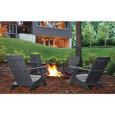 Emmet Grey Lounge Chairs - Modern Outdoor Furniture - Room & Board