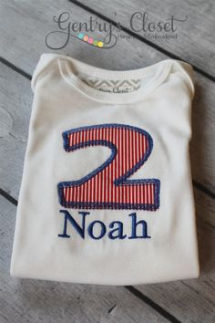 2nd Birthday Shirt or Onesie for Baby Infant by GentrysCloset, $22.00