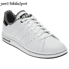 cheap for discount 6bd7e 14b6f Comprar Barato Mujeres Adidas Originals Stan Smith 2.0 Zapatos de Cuero  Blanco Negro Outlet Madrid