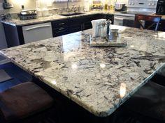 Bianco white granite countertop in Bellevue WA from Granite & Marble Specialties
