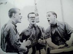 """▶ The Kingston Trio - """"Tom Dooley"""" (1958) [The Kingston Trio is an American folk and pop music group of the late 1950s-1960s. The group started as a San Francisco Bay Area nightclub act.] [History: In 1866, Laura Foster was murdered. Confederate veteran Tom Dula (Dooley), Foster's lover and probable fiancé, was convicted of her murder and hanged May 1, 1868. Foster was stabbed to death with a large knife; the brutality of the attack partly accounted for the widespread publicity the murder.]…"""
