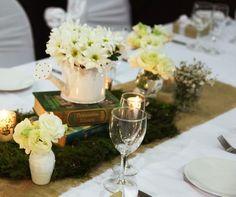 décoration de table mariage vintage en arrosoirs