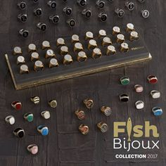 FishBijoux newcollection2017 @maisonobjet  #fishbijoux #giovannipesce #rings