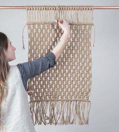 DIY | Welcome Home Accent Rug | Modern Macramé Book | Poppytalk