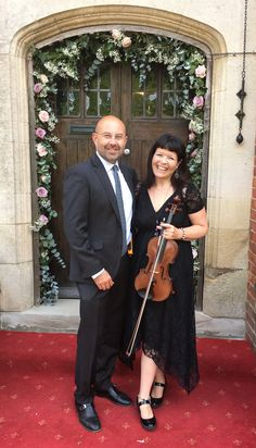 Wedding of Helen and Steve at St Mary the Virgin Church, Stoke Bruerne, Northants Reception at Plum Park Hotel 💜🎶 Park Hotel, Jazz Music, Plum, Wedding Venues, Reception, Mary, Wedding Reception Venues, Wedding Places, Receptions