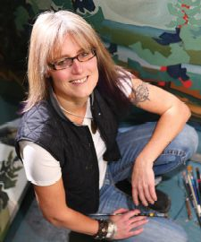 Three Things I've Learned, with Lynne Huras. Photo provided by Lynne Huras. Canadian Artists, Banff, Art Images, How To Find Out, Third, Studio, Learning, Lady, Profile