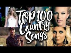 Most Popular Country Songs, Top 100 Country Songs, Country Videos, Counting Songs, All About Time, The 100, Youtube, Musik, Youtubers
