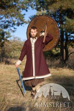 "Viking Woolen Kaftan ""Bjorn the Broadsword"""