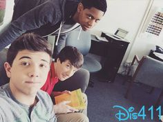 Photo: Bradley Steven Perry With Jake Short