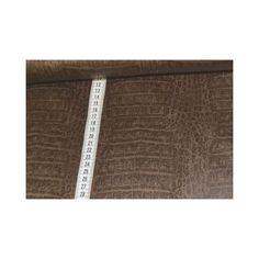 Bekleidungs - Stoff HW1516-1008 Lederimitat braun von stoffe-tippel auf DaWanda.com