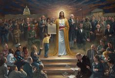 Peace Is Coming Lithograph Print by Artist Jon McNaughton