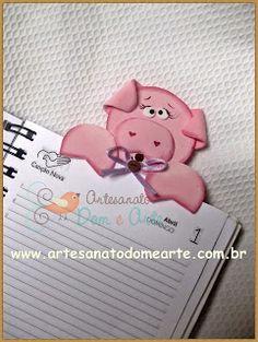 Artesanato Dom e Arte: Marca Páginas !!
