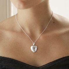 Engraved Four Piece Heart Locket - women's jewellery
