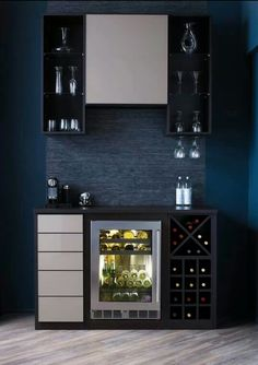The Chic Technique: I would love this bar at home.