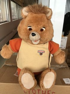 Teddy Ruxpin bear WORKS in Montreal - letgo