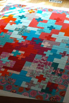 Love this Quilt top... Now for the pattern