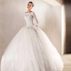Vestido de Noiva Longo com Bordado Transparente