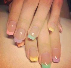Francesinhas coloridas