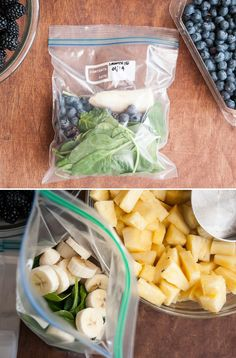 Healthy Green Smoothies | Month of healthy smoothies in one hour | HelloGlow.co