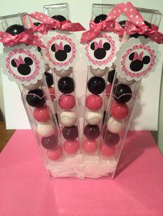 6 Disney Minnie Mouse cumpleaños fiesta por LolasSweetsAndTreats