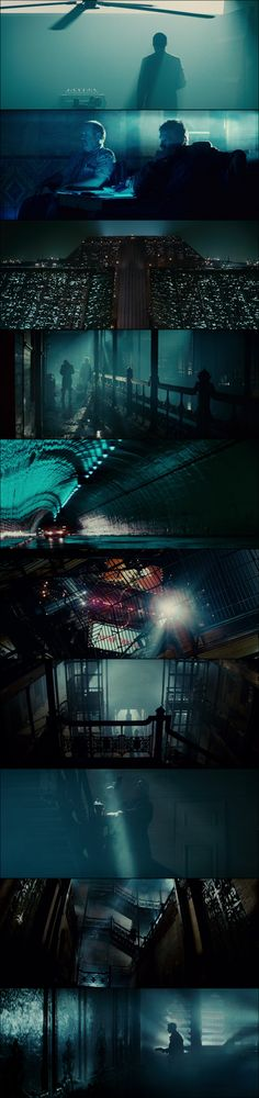 Blade Runner (1982) | Painting with Lights      Colour/Lighting for interior shots, in venue.