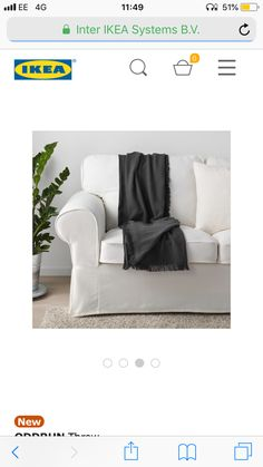 Ikea New, Lounge, Couch, Furniture, Home Decor, Airport Lounge, Drawing Rooms, Settee, Decoration Home