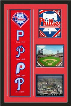 Philadelphia Phillies Banner With Logos-2011 Philadelphia Philies Team Logo photo, Citizens Bank Park 2011 photo, Citizens bank park Photo Framed With Team Color Double Matting In Quality Black Frame-Awesome & Beautiful-Must For Any Fan! Art and More, Davenport, IA http://www.amazon.com/dp/B00GYZ75N0/ref=cm_sw_r_pi_dp_9RhHub1YCX22P