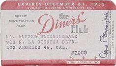 original Diners Club card