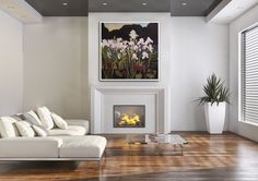 Painting by Lorna Dockstader - represented by Stephen Lowe Art Gallery in Calgary, AB - Created by iArtView.com