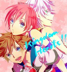 Sora, Kairi & Riku