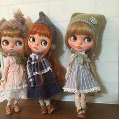 レディは寒いなんて言ってられないわ〜〜 ファッション先取り ガタブルでも #blythe#blythedoll#customblythe#ooakblythe#instablythe#ブライス#カスタムブライス Blythe Dolls, Crochet Hats, Character Reference, Maya, Cute, Instagram Posts, Collection, Fashion, Dolls