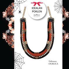 [IDEALAN POKLON]  Ova ogrlica obradovala bi:  1) tvoju mladju sestru 2) drugaricu čija je omiljena boja narandžasta 3) tebe ?