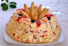 Cuina amb la mestressa: Pastel de ensaladilla de patatas y marisco.   http://cuinaamblamestressa.blogspot.com.es/2014/11/pastel-de-ensaladilla-de-patatas-y.html